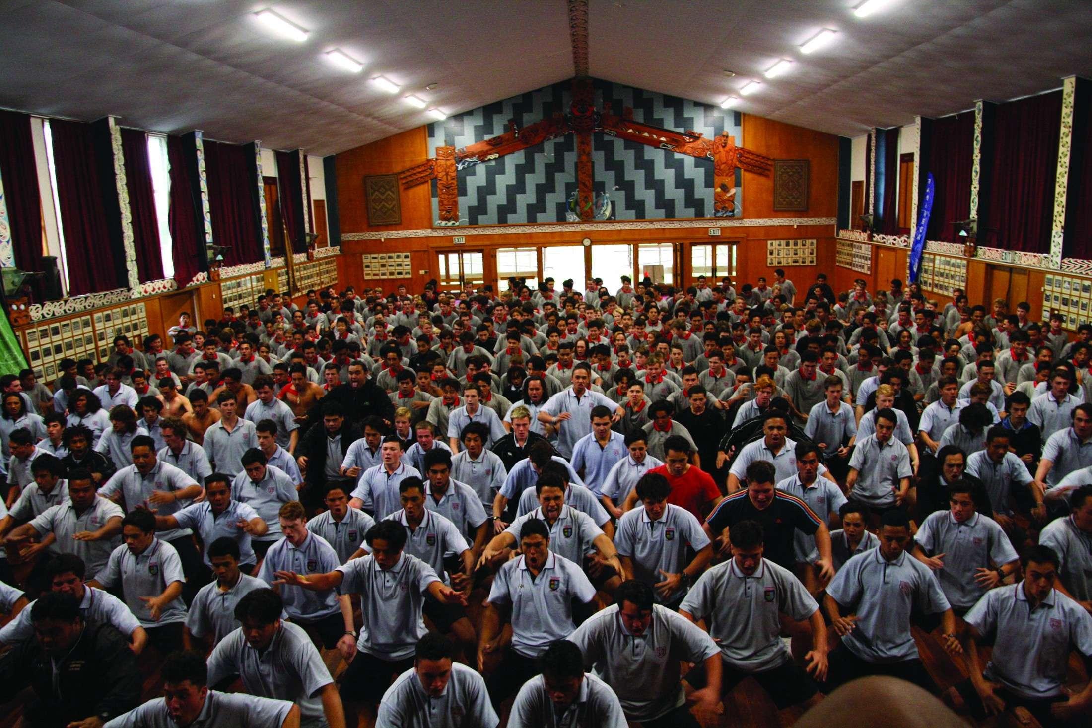 Hakaassembly Gisborne Boys' High School