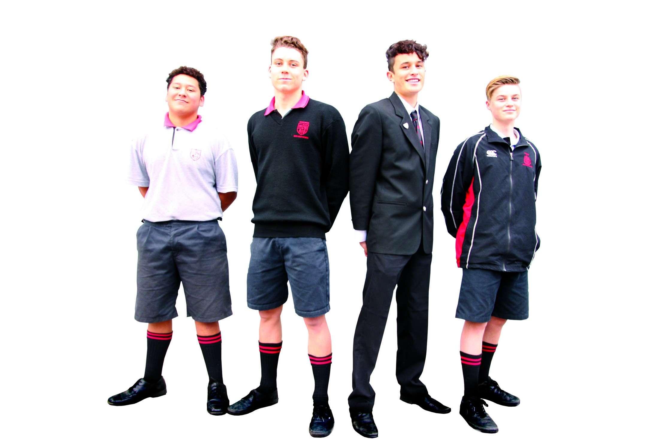 Uniform 2018 Gisborne Boys' High School