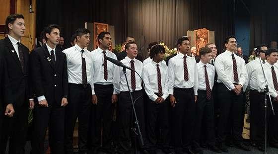 Choir Thumb  Gisborne Boys' High School