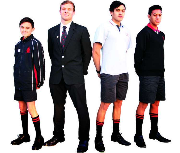 Gisborne Boys High School uniform