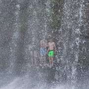 Falls Behind Rere Falls, Outdoor Education Activity